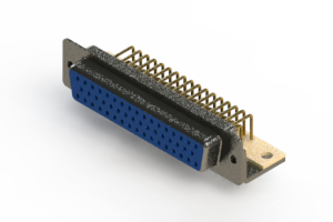 630-M50-640-LT4 - Right Angle D-Sub Connector