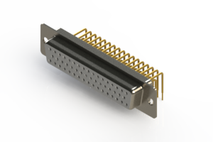 630-M50-640-WT1 - Right Angle D-Sub Connector