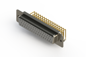 630-M50-640-WT2 - Right Angle D-Sub Connector