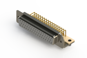 630-M50-640-WT3 - Right Angle D-Sub Connector
