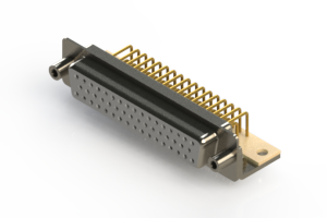 630-M50-640-WT6 - Right Angle D-Sub Connector