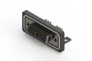 630W11W1340-3NC - Waterproof Right Angle Combo Dsub