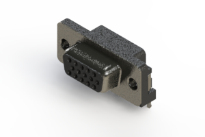 632-015-273-031 - 651 Series right angle D-Sub Connector