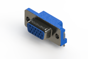 632-015-274-001 - 663 Series right angle D-Sub Connector