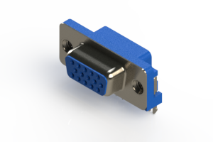 632-015-274-005 - 666 Series right angle D-Sub Connector
