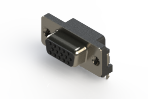 632-015-666-035 - 734 Series right angle D-Sub Connector
