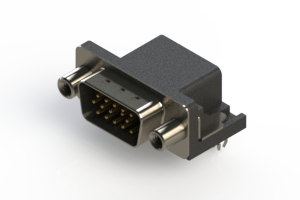 633-015-273-040 - Right Angle D-Sub Connector
