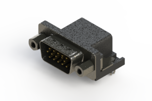 633-015-273-553 - Right Angle D-Sub Connector