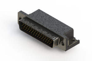 633-044-263-011 - Right Angle D-Sub Connector