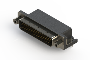 633-044-263-043 - Right Angle D-Sub Connector