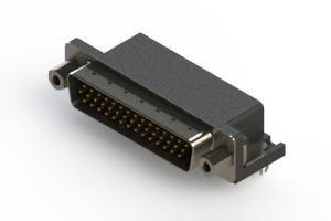 633-044-263-543 - Right Angle D-Sub Connector
