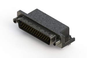 633-044-263-550 - Right Angle D-Sub Connector