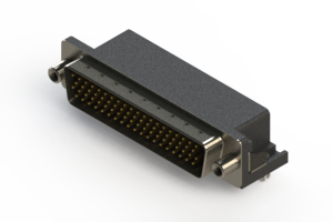 633-078-263-040 - Right Angle D-Sub Connector