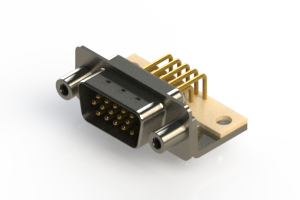 633-M15-263-BN6 - High Density D-Sub Connectors
