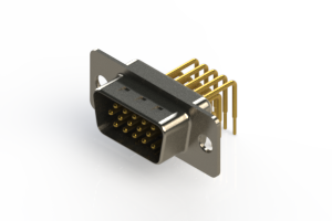 633-M15-263-WT1 - High Density D-Sub Connectors