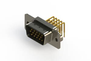 633-M15-263-WT2 - High Density D-Sub Connectors