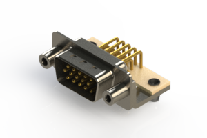 633-M15-263-WT5 - High Density D-Sub Connectors