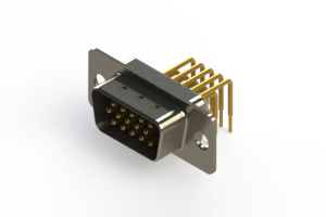 633-M15-663-BN1 - High Density D-Sub Connectors