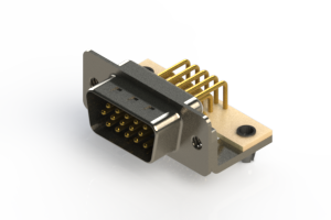 633-M15-663-BN3 - High Density D-Sub Connectors