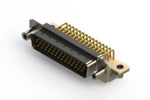 633-M44-263-WT5 - High Density D-Sub Connectors