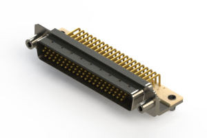 633-M62-263-WT5 - High Density D-Sub Connectors