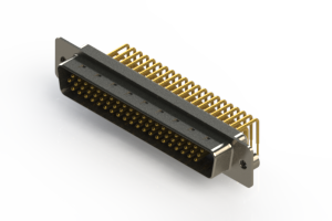 633-M62-363-BN2 - High Density D-Sub Connectors