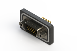 633-W15-662-012 - Waterproof High Density D-Sub Connectors