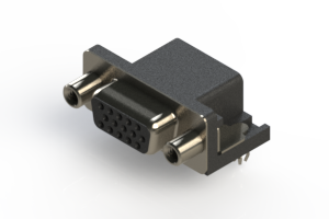 634-015-263-040 - Right Angle D-Sub Connector