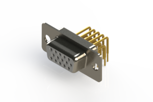 634-M15-263-WT1 - High Density D-Sub Connectors
