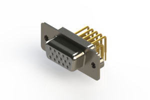 634-M15-263-WT2 - High Density D-Sub Connectors
