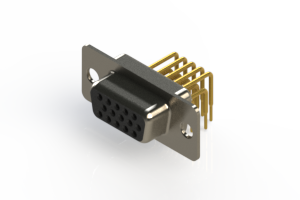 634-M15-363-BN1 - High Density D-Sub Connectors