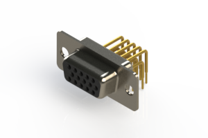 634-M15-663-BN1 - High Density D-Sub Connectors