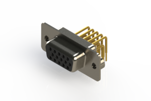 634-M15-663-BN2 - High Density D-Sub Connectors