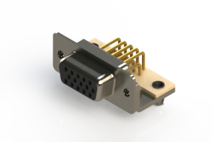 634-M15-663-BN3 - High Density D-Sub Connectors