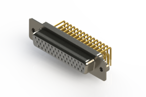 634-M44-263-WT2 - High Density D-Sub Connectors