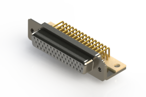 634-M44-263-WT4 - High Density D-Sub Connectors