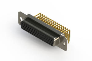634-M44-663-BN1 - High Density D-Sub Connectors