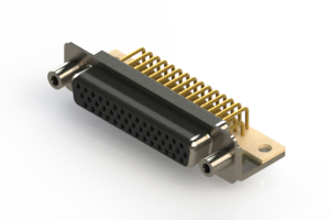 634-M44-663-BN6 - High Density D-Sub Connectors