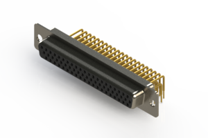 634-M62-363-BT1 - High Density D-Sub Connectors