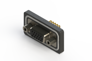 634-W15-662-012 - Waterproof High Density D-Sub Connectors