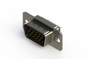 637-015-332-041 - Vertical D-Sub Connector