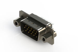 637-015-332-043 - Vertical D-Sub Connector