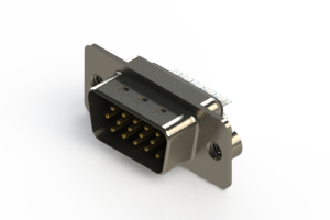 637-015-632-042 - Vertical D-Sub Connector
