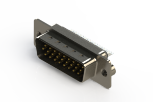 637-026-232-042 - Vertical D-Sub Connector