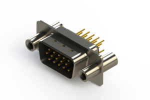 637-M15-630-BN4 - Machined D-Sub Connectors
