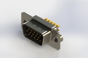 637-M15-632-BN2 - Machined D-Sub Connectors