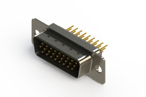 637-M26-230-BN1 - Machined D-Sub Connectors
