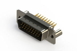 637-M26-230-BN3 - Machined D-Sub Connectors
