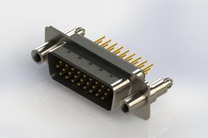 637-M26-230-BN6 - Machined D-Sub Connectors