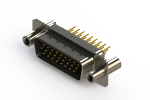637-M26-330-BN4 - Machined D-Sub Connectors